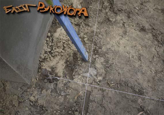 подготовка участка под работы по укладке тротуарной плитки