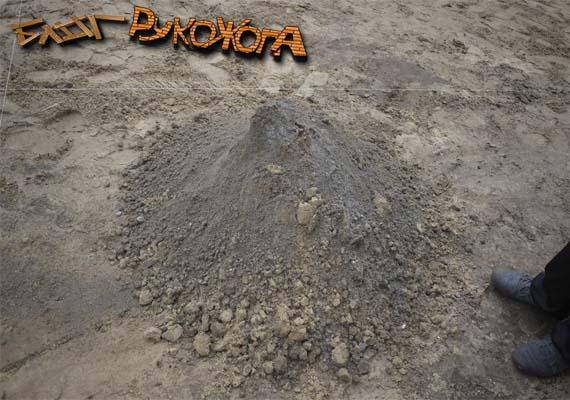 как замешать цементно-песчаную смесь