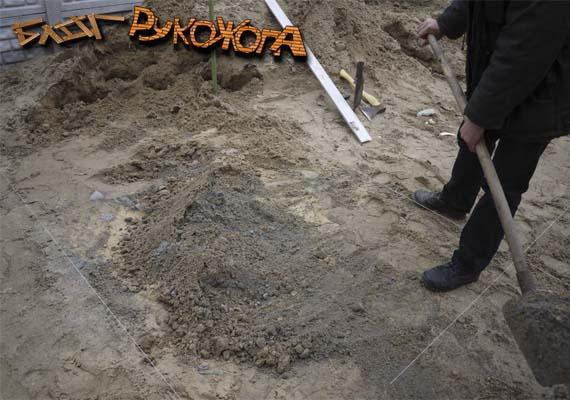 замешиваем песко-цементную смесь своими руками