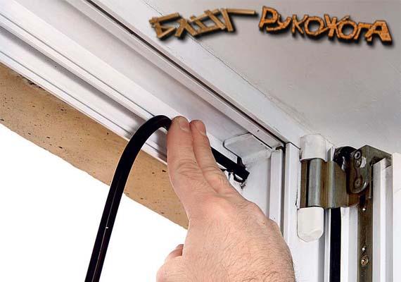 Ремонт пластиковой двери своими руками