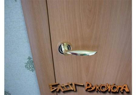 как врезать замок в межкомнатные двери